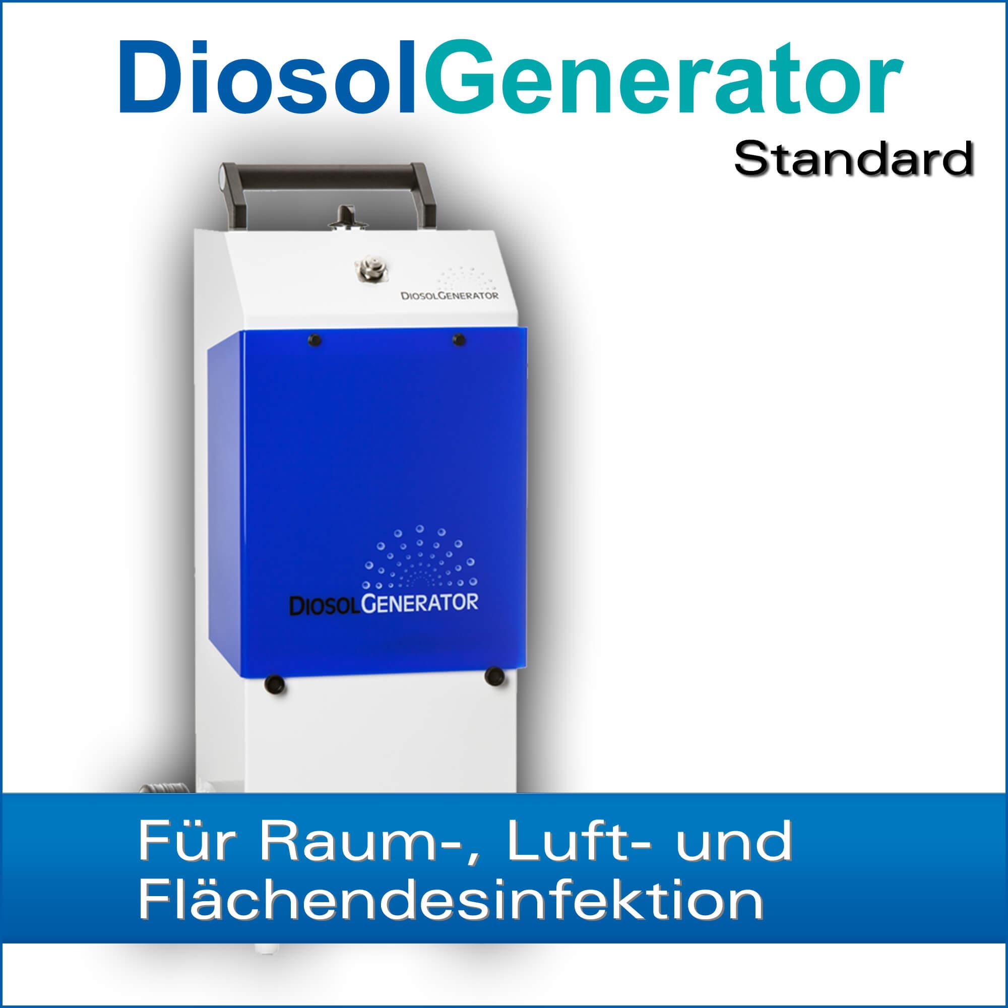 H2O2 Kaltvernebler DiosolGenerator Standard