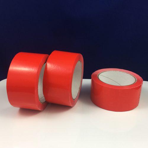 Klebeband gasdicht, rot (PVC)