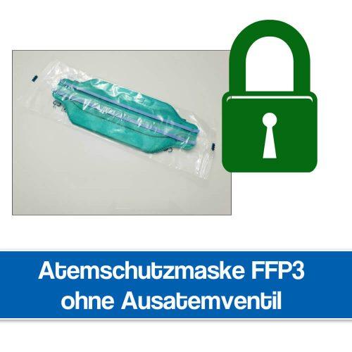 Atemschutzmaske FFP3 ohne Ausatemventil