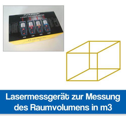 Lasermessgerät für Räume