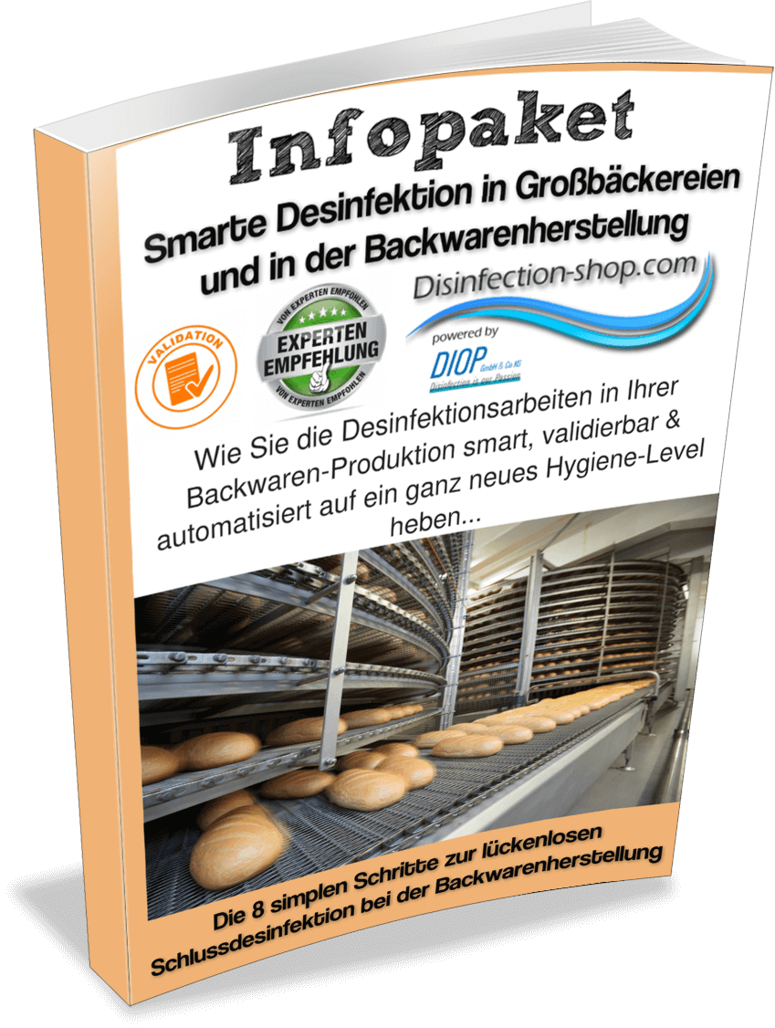 Desinfektion Bäckerei