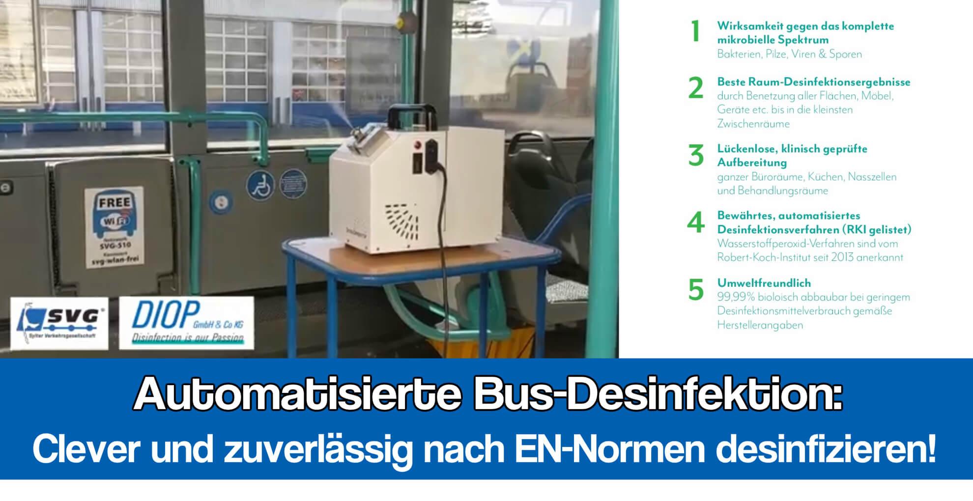 Bus Desinfektion