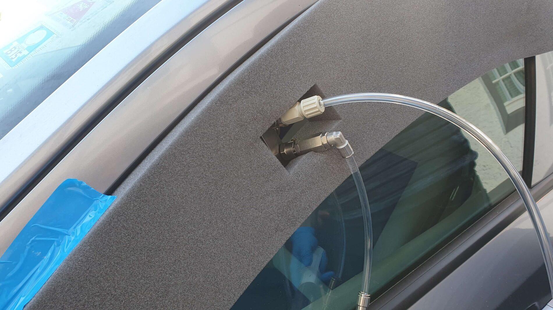 Auto innen desinfizieren