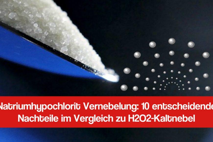 Natriumhypochlorit Vernebelung