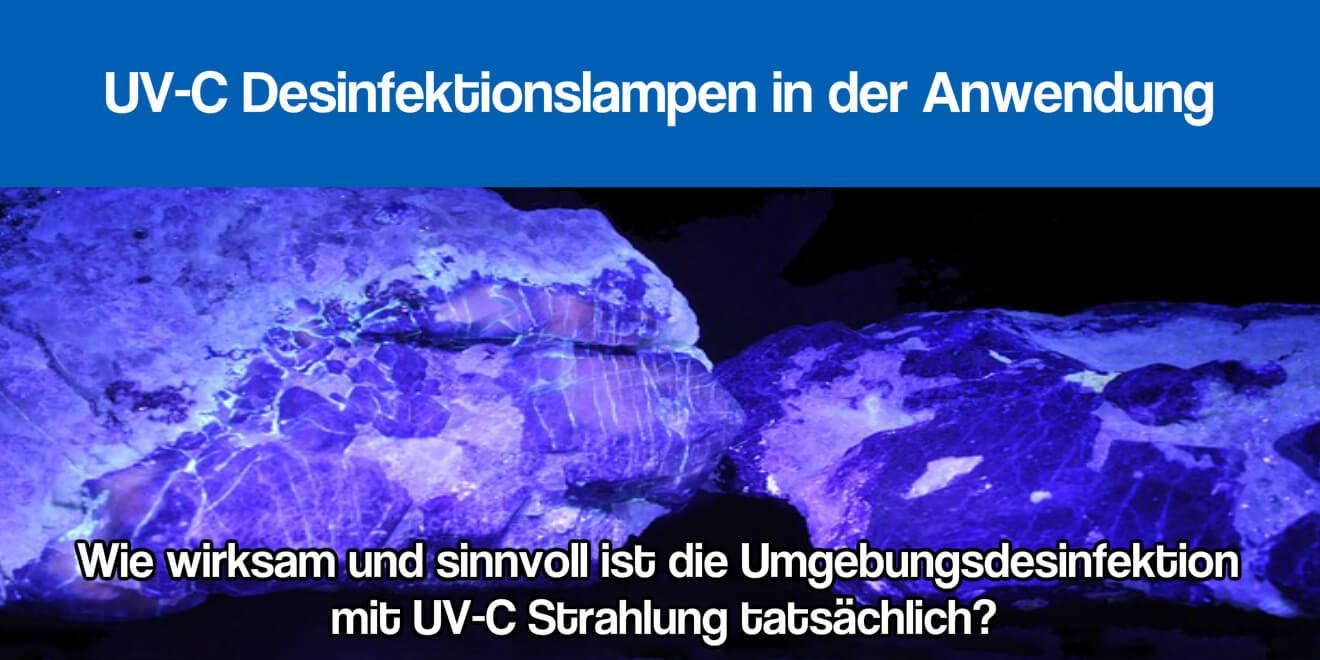 UV-C Desinfektionslampe