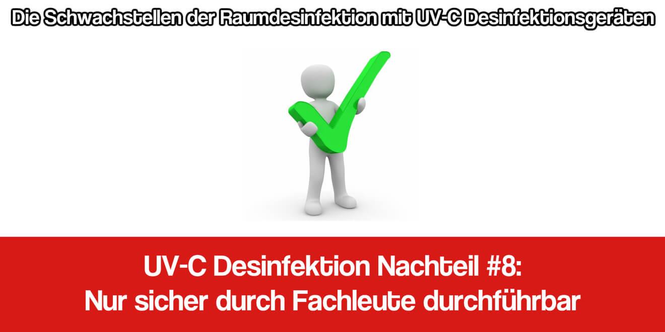 UV-C Anwendung