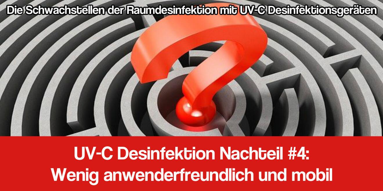 UV-C Desinfektion Anwendung