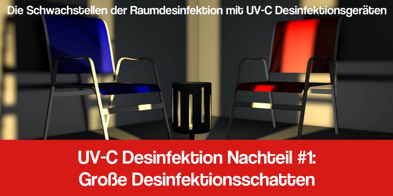 UV-C Desinfektionslicht Anwendung