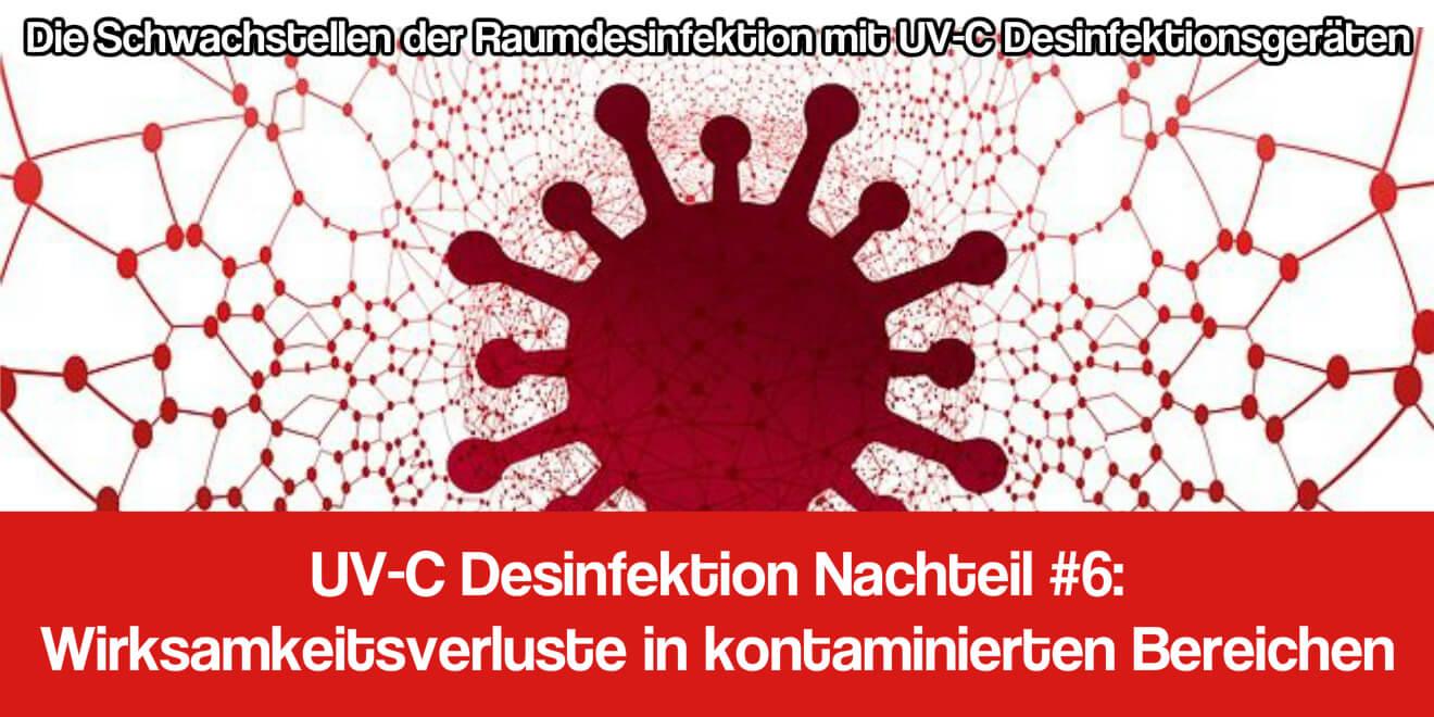 UV-C Desinfektionslicht Test
