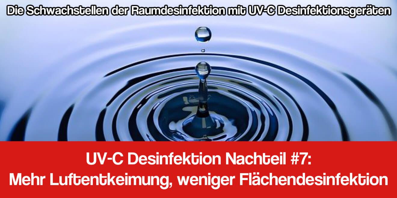 UV-C Licht Desinfektion