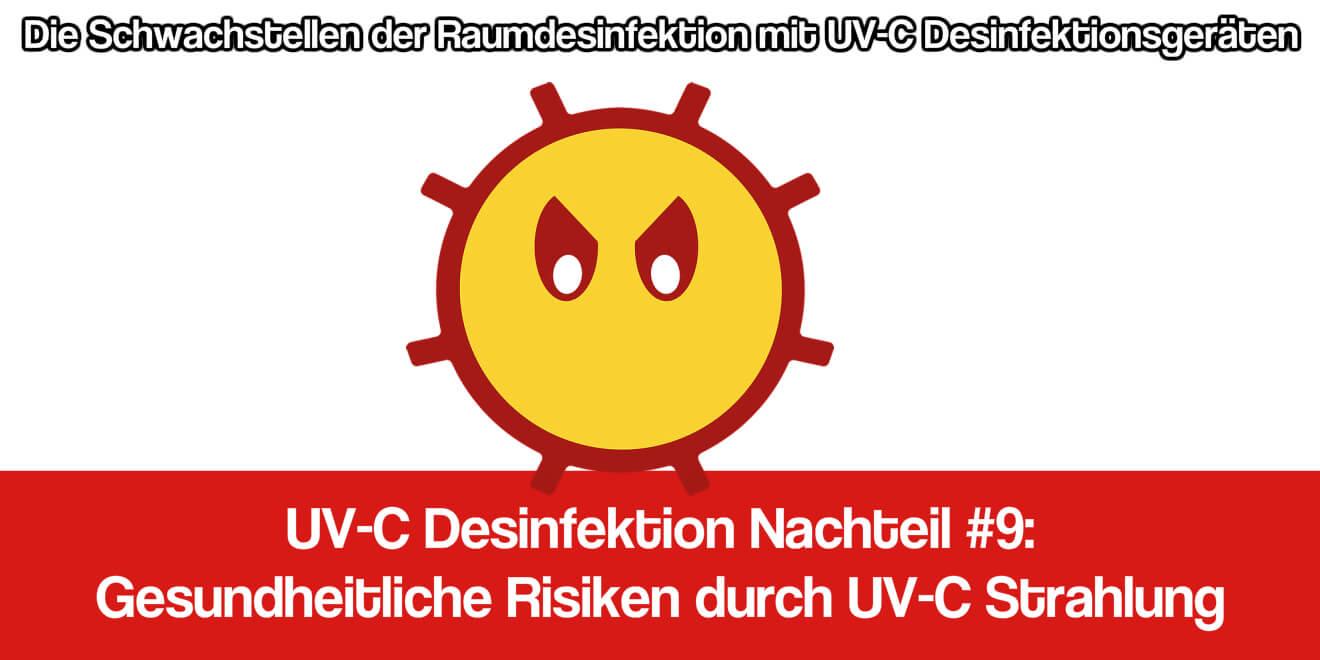 UV-C Gesundheit Risiken