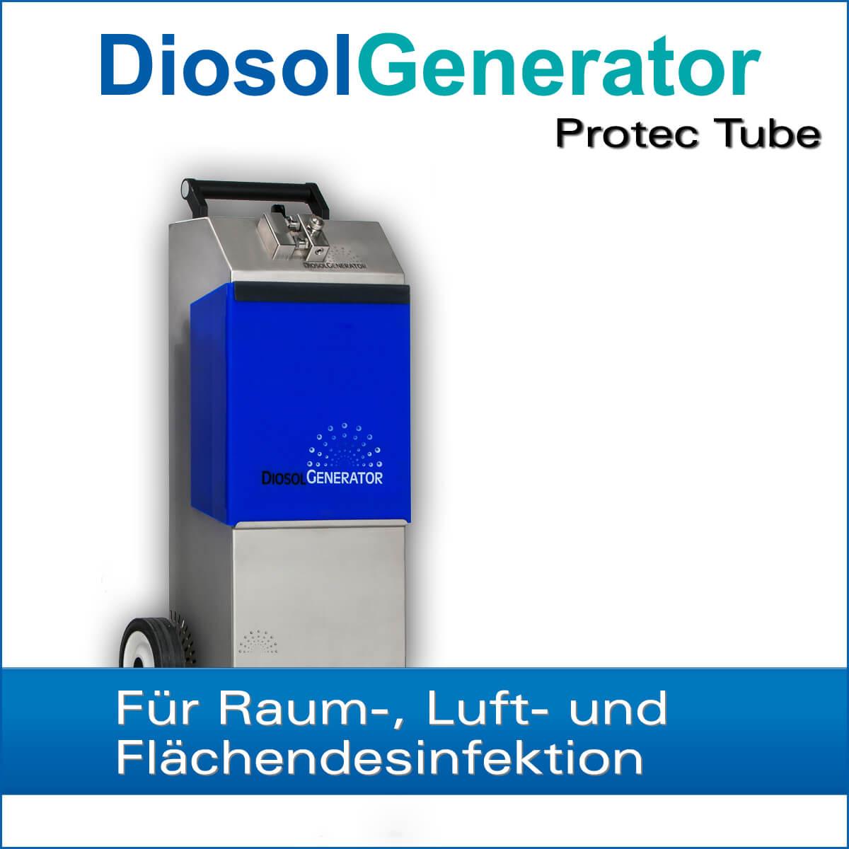 h2o2 verneblungsgerät diosolgenerator protec tube