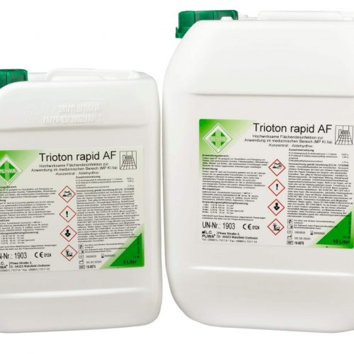 Trioton rapid AF Flächendesinfektionsreiniger Konzentrat