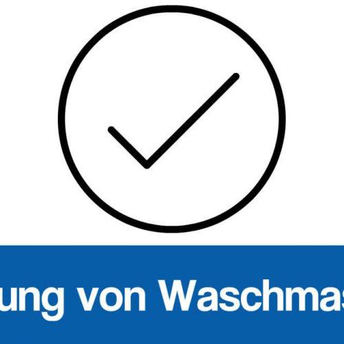 Validierung Waschmaschinen