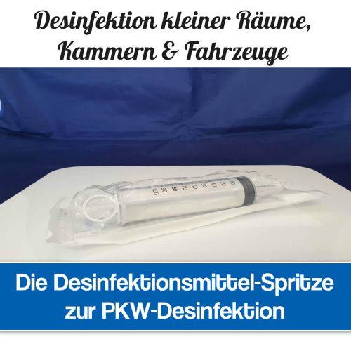 Desinfektionsmittel Spritze