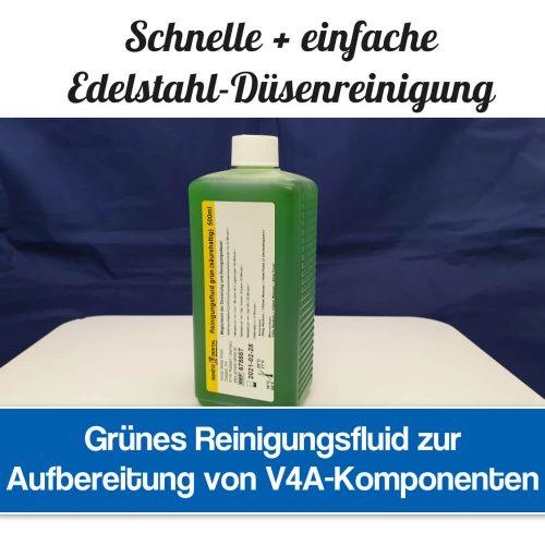 Reinigungsfluid grün