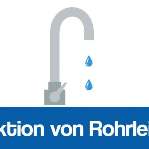 Desinfektion von Rohrleitungen