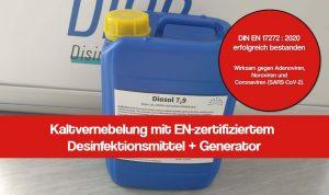 Kaltvernebelung Desinfektionsmittel: Die 7 wichtigsten Merkmale
