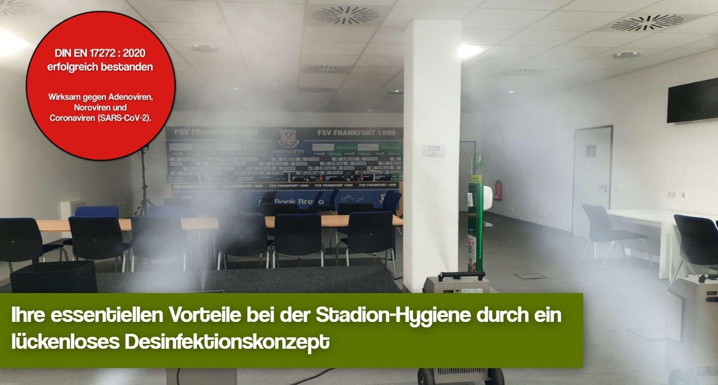 Hygienekonzept Fussballstadion