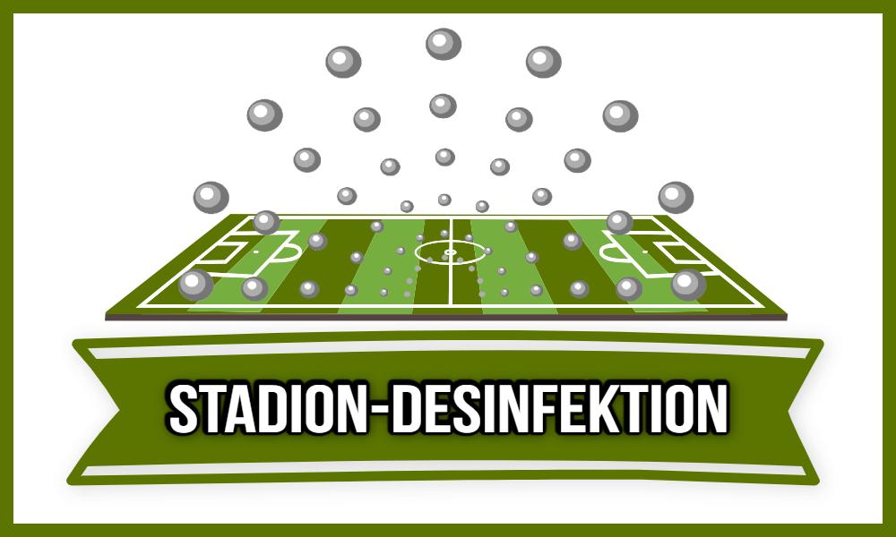 Stadion Desinfektion
