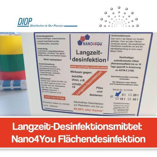 Nano4You Desinfektionsmittel